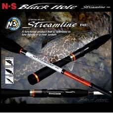 Спининг Streamline S-662L RE 1.98 Black Hole