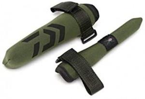 Протектори за въдица - Daiwa BLACK WIDOW връх и дръжка - неопрен