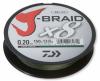 8 нишково плетено влакно Daiwa J- Braid X 8 - 300 m тъмно зелено